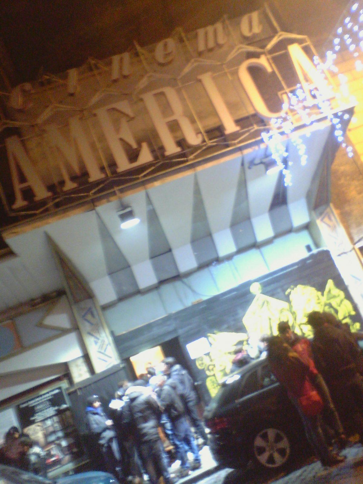 Entrata del Cinema America Occupato -Città Eterna, Roma