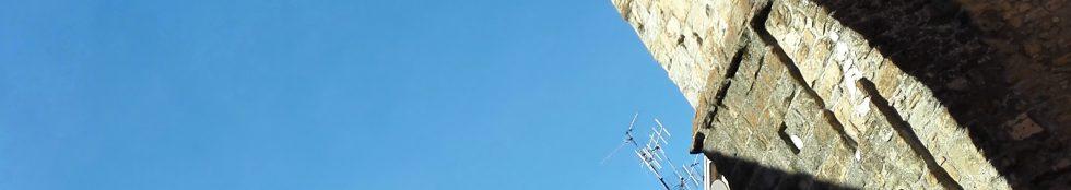 la torre di Amatrice ed il suo corso. foto ott. 2015