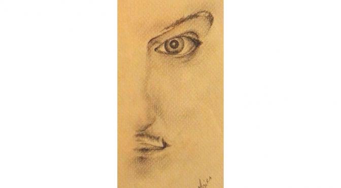 Vorrei essere come nel ritratto di quest'artista.